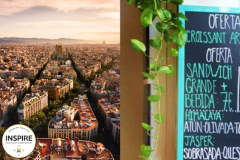 Barcelona City View; Barcelona Village Menu