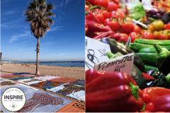 Barceloneta Beach; Barcelona Verduras