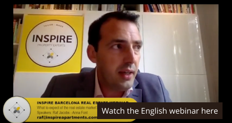 English Barcelona Real Estate Webinar: Raf Jacobs