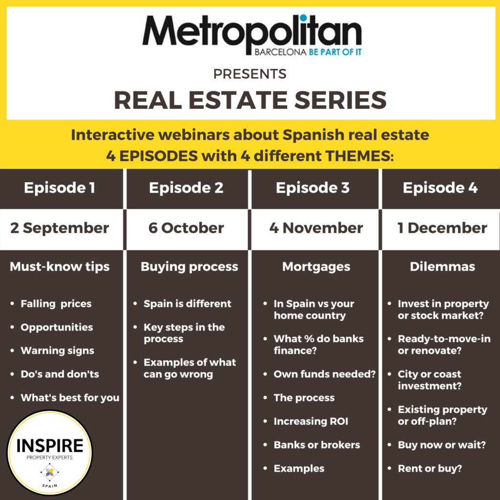 Real Estate Series INSPIRE METROPOLITAN